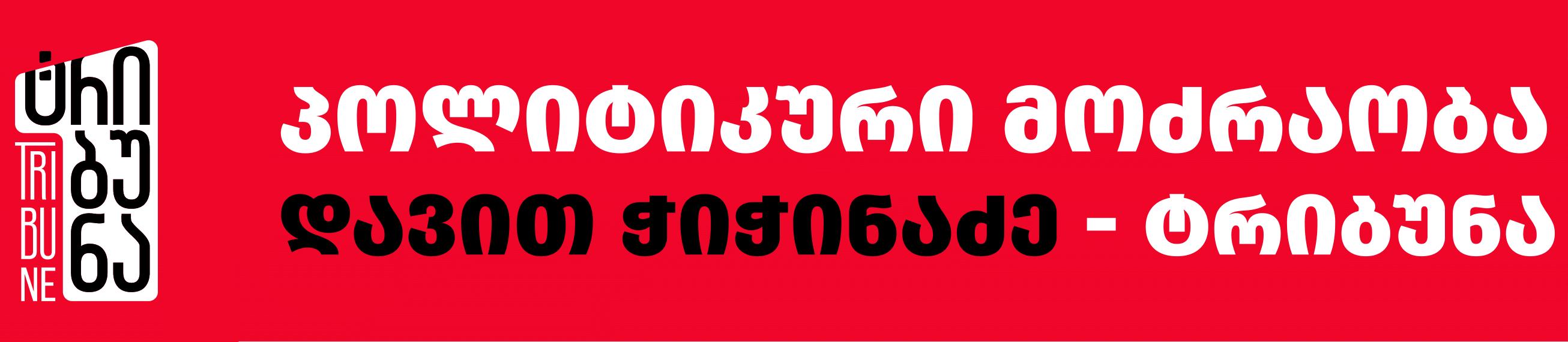 ტრიბუნა დავით ჭიჭინაძე - პოლიტიკური მოძრაობა | Tribuna.ge